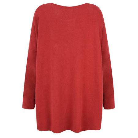 Mama B Sunny Trapeze Top - Red
