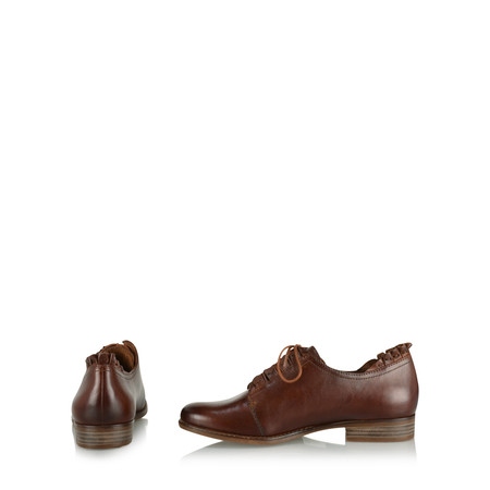 Tamaris  Eleanor Ruffle Shoe - Brown