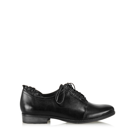 Tamaris  Eleanor Ruffle Shoe - Black