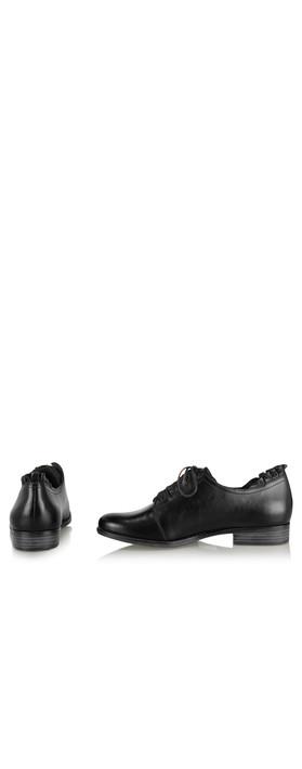 Tamaris  Eleanor Ruffle Shoe Black