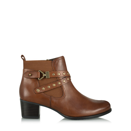 Caprice Footwear Hylda Ankle Boot - Brown