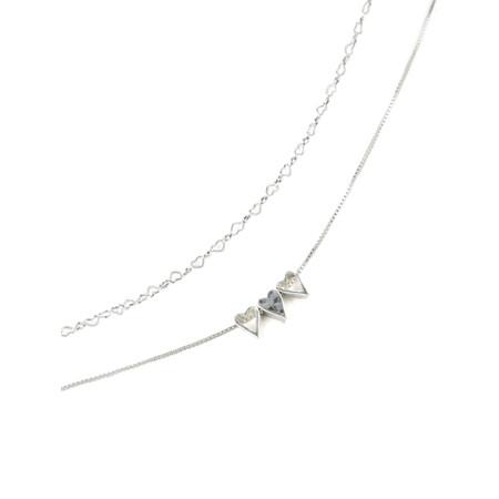 Tutti&Co Faith Necklace  - Metallic