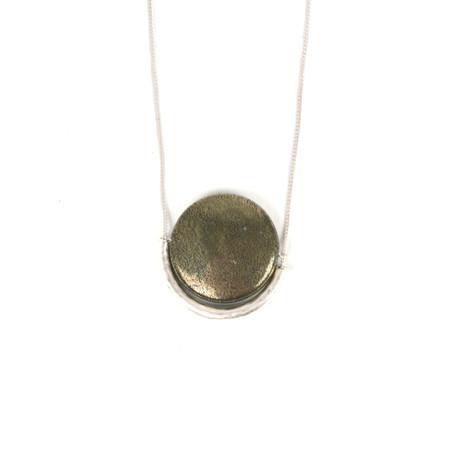 Tutti&Co Ironstone Necklace - Metallic