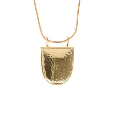 Tutti&Co Shield Necklace - Gold