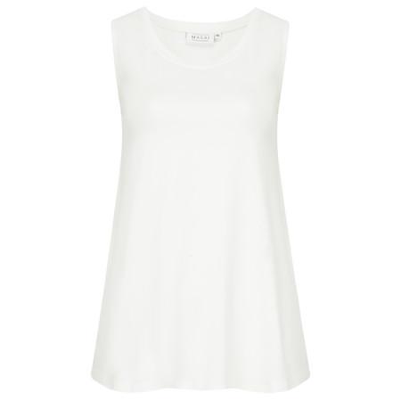 Masai Clothing Elisa Basic Top - Off-White