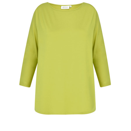 Masai Clothing Basia Jersey Top - Green
