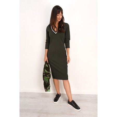 Sandwich Clothing Double Knit Jersey Dress - Green