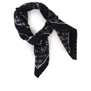 Sandwich Clothing Cotton Square Scarf