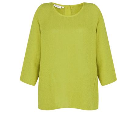 Masai Clothing Barbara Boucle Knit Top - Green