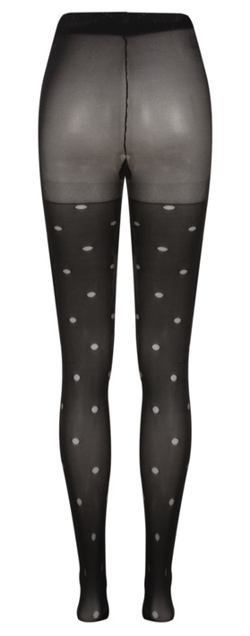 Sandwich Clothing Dotted Micro Tights Black