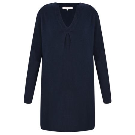 Sandwich Clothing Raglan Sleeve V Neck Jumper - Blue