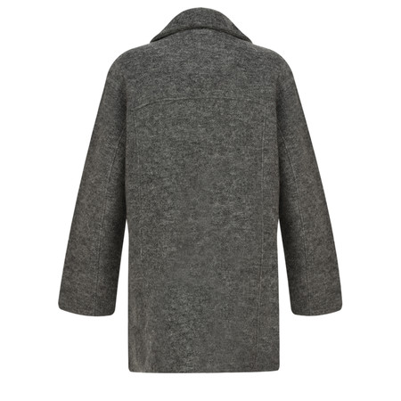 Adini Harvard Knit Cavilleri Jacket - Grey