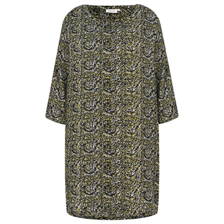 Masai Clothing Glusna Print Tunic - Green