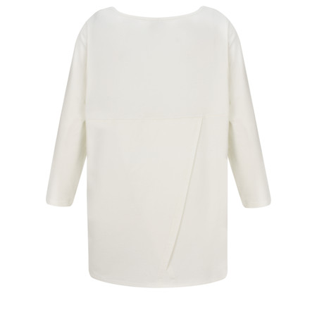 Masai Clothing Basia Jersey Top - Off-White