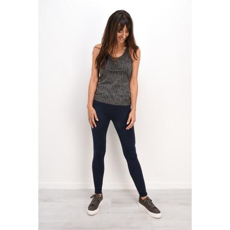 Sandwich Clothing Double Knit Jersey Legging - Blue