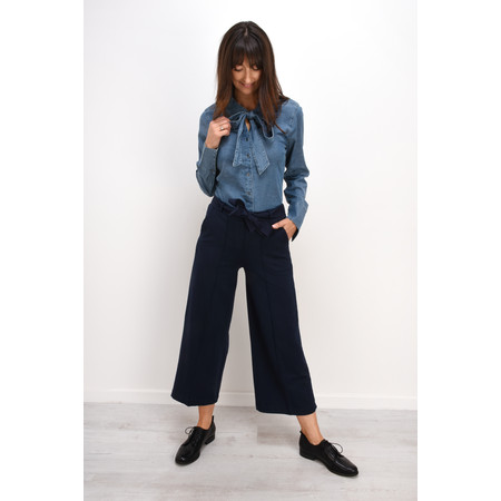 Sandwich Clothing French Terry Culottes - Blue
