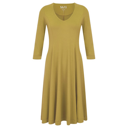 Myti by Myrine Jersey Crepe Alice Dress - Green