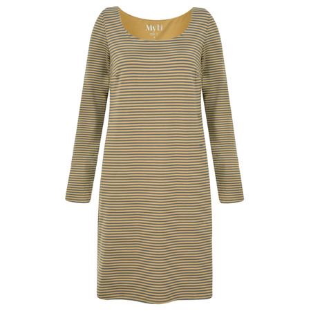 Myti by Myrine Striped Jersey Soul Tunic Dress - Green