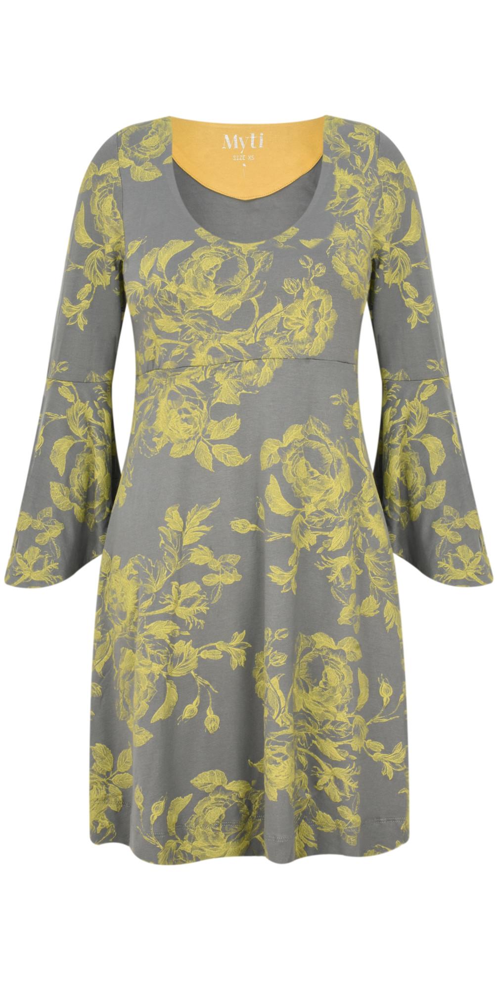 Flower Print Jersey Conga Tunic main image