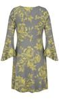 Myti by Myrine 4A- Fennel Flower Print Jersey Conga Tunic