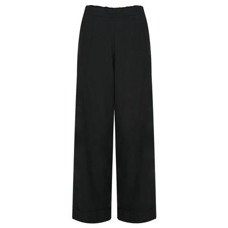 Myti by Myrine Comfort Wide Leg Punk Trousers - Black
