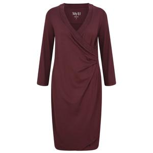 Myti by Myrine Ruched Side Jersey Crepe Dress