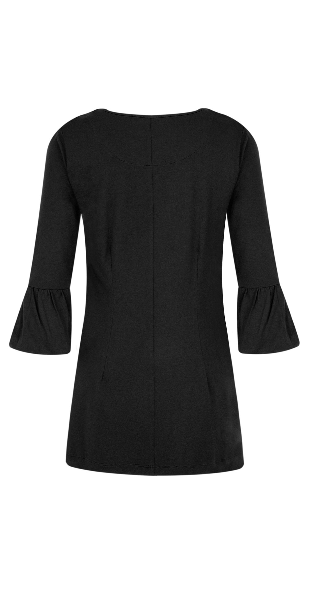 Jersey Crepe Bell Sleeve Top main image
