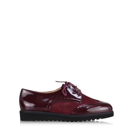 Gemini Label  Bugui Brogue Brothel Creeper  - Purple