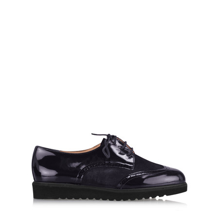 Gemini Label  Bugui Brogue Brothel Creeper  - Blue
