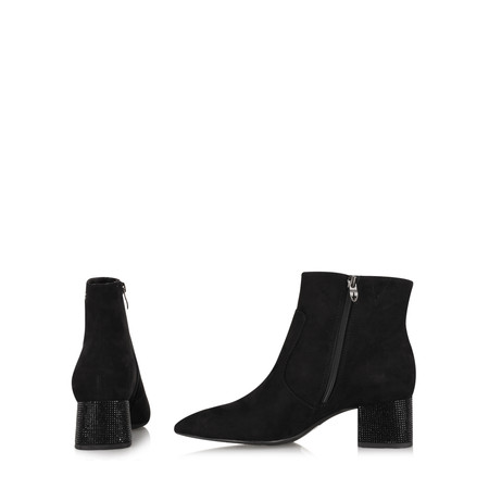 Tamaris  Verity Glam Heel Ankle Boot - Black