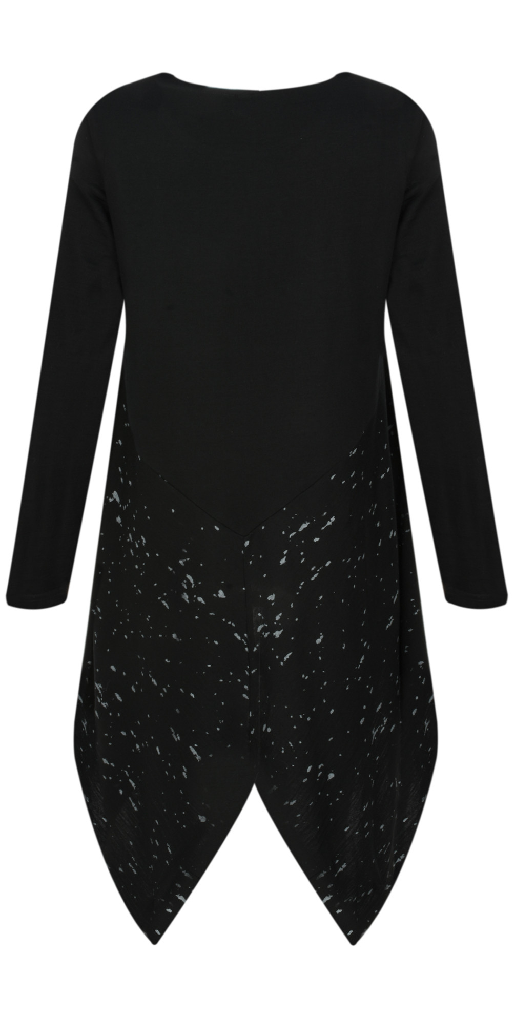 Merino Wool Splatter Top main image