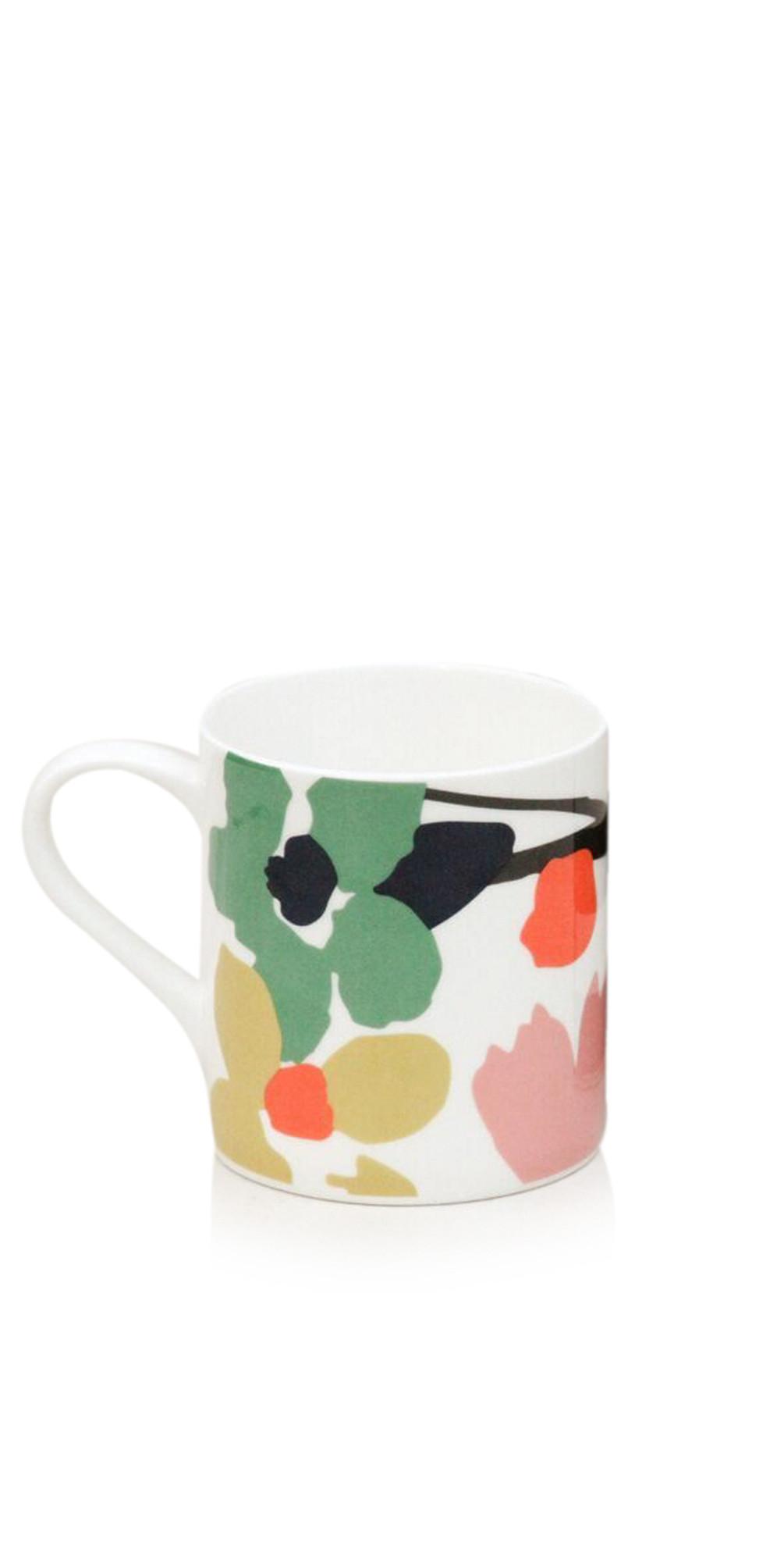 Abstract Floral Boxed Mug main image