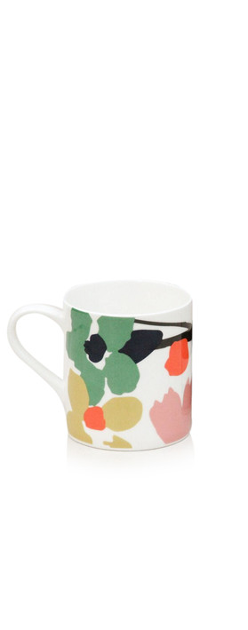 Caroline Gardner Abstract Floral Boxed Mug Multi