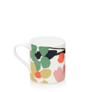 Caroline Gardner Abstract Floral Boxed Mug