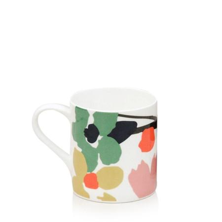 Caroline Gardner Abstract Floral Boxed Mug - Multicoloured