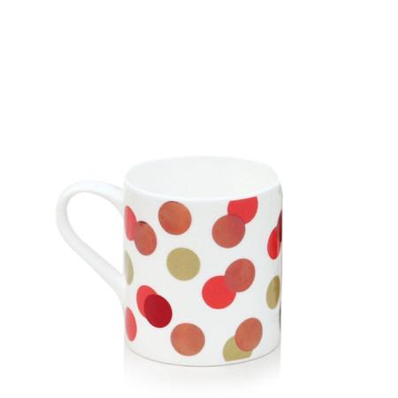 Caroline Gardner Metallic Spot Boxed Mug - Multicoloured