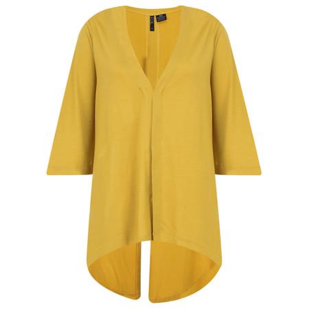 Foil Merino Wool Top - Yellow