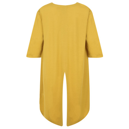 Foil Merino Wool Top - Yellow