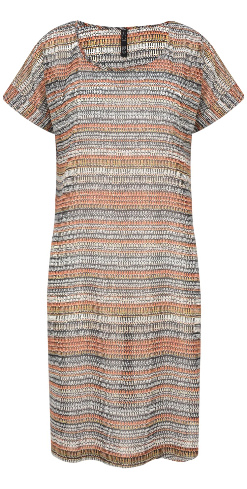 Abstract Stripe Printed Tunic main image