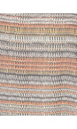 Foil Mimick Multi Abstract Stripe Printed Tunic