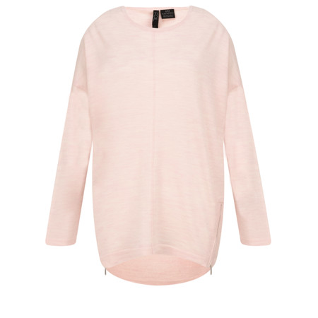Foil Long Sleeve Top - Pink