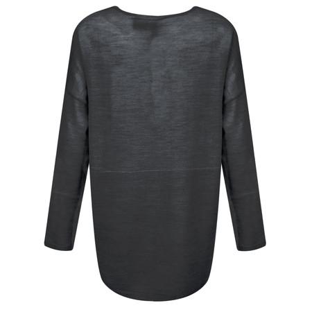 Foil Long Sleeve Top - Grey