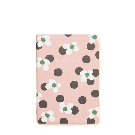 Caroline Gardner Floral Spot Casebound Notebook - Multicoloured