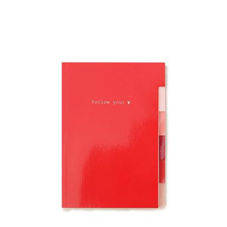 Caroline Gardner Multi Tab Notebook - Red