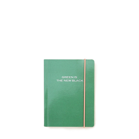 Caroline Gardner Small Chunky Notebook - Green