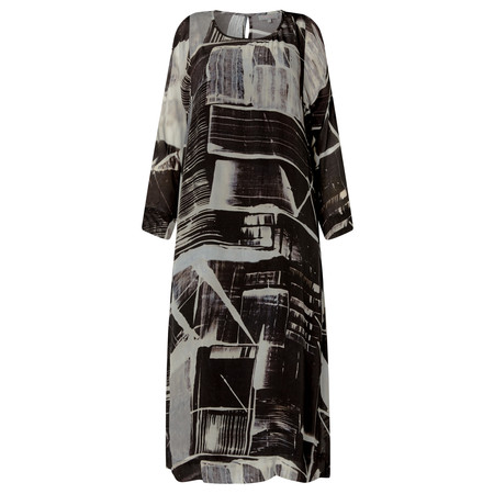 Sahara Window Pane Print Dress - Multicoloured