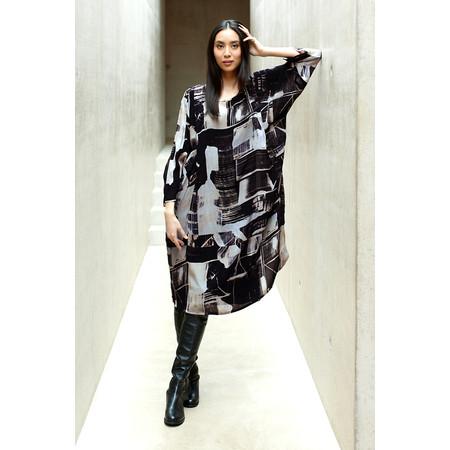 Sahara Window Pane Print Dress - Multicoloured