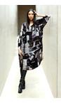 Sahara Multi Window Pane Print Dress