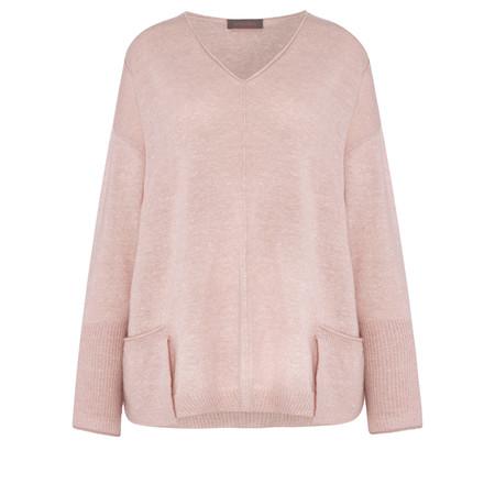 Sahara Easyfit Cashmere Jumper - Pink