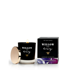 Willow and Honey Black Pomegranate Candle